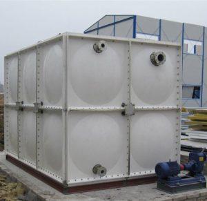 12m3 FRP/GRP/smc water tank