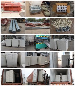 GRP water tank  accessories and packing