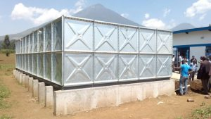 Galvanized water storage tank 1m1m panel