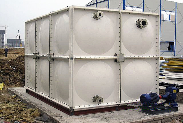 Drinking Water Storage Tank Next Pervious