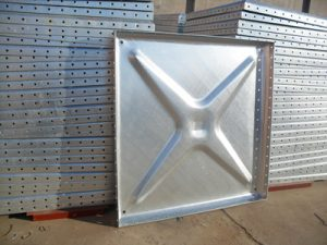 galvanized steel water tank panel 1.22mm*1.2mm & 1mm*1mm