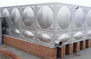 stainless steel water tank project