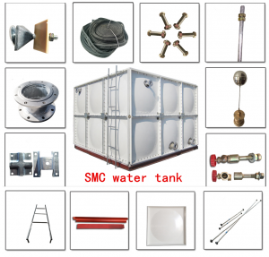 GRP WATER TANK breakdown drawing
