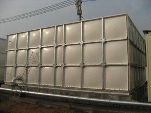 GRP panel water tank