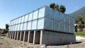 galvainzed water tank proiect