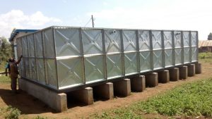 galvanized water tank project 1